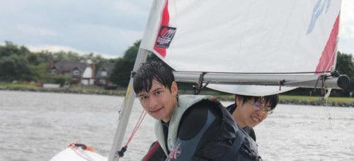 ICE sailing boys
