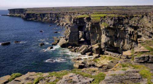 cliffs at aran