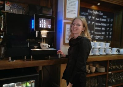 Work experience in a café