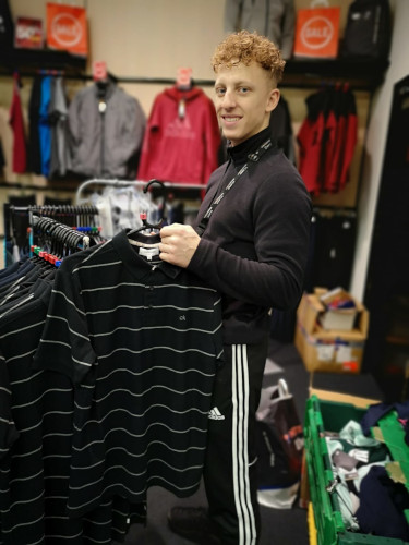 Work experience in a store as a seller